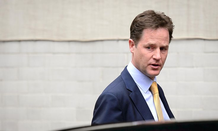 Damning verdict: Nick Clegg and Lib Dems face wipeout