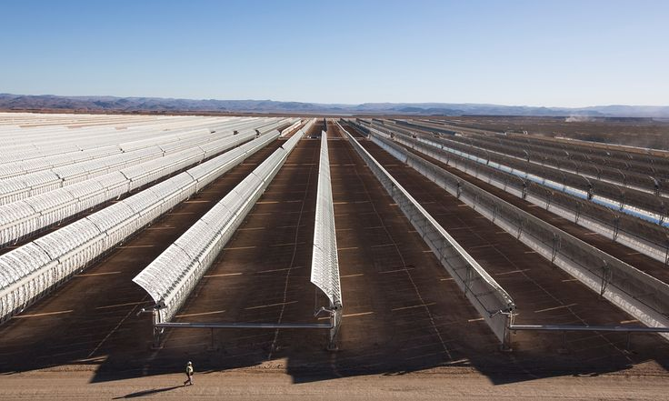 World's largest concentrated solar power plant complex, powered by the Saharan sun, set to help renewables provide almost half the country's energy by 2020