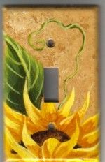 Sunflower themed Kitchen |