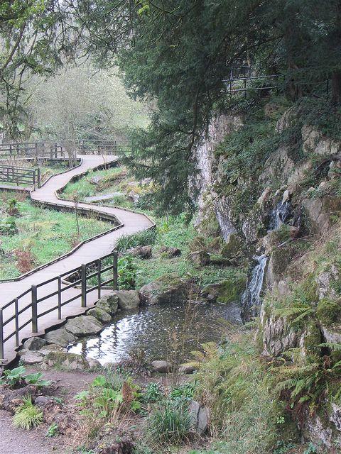 Waterfall, Blarney Castle, Cork, Ireland