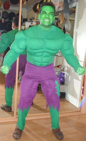 homemade hulk costume - Google Search