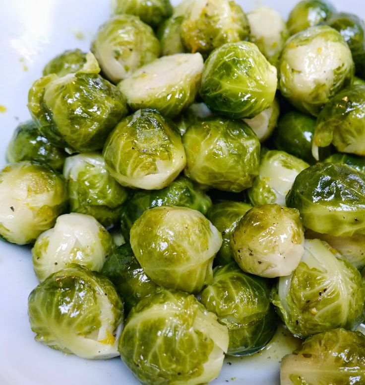 Foods For Long Life: Sweet And Orangey Brussels Sprouts Stove Top Or Instant Pot Pressure Cooker RecipePerfect Side Dish For The Holidays