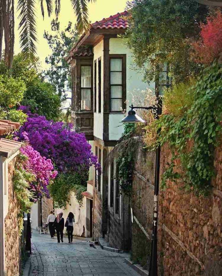 Kaleiçi-Antalya-Turkiye