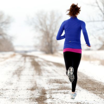 Layer Your Clothes - 8 Ways to Stay Warm During Your Winter Run - Shape Magazine