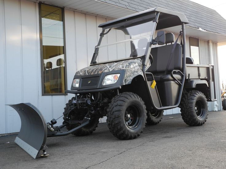 Best 25 atv snow plow ideas on pinterest atv plow shed for Atv shed plans