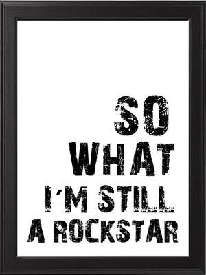 Walldesign - Rockstar