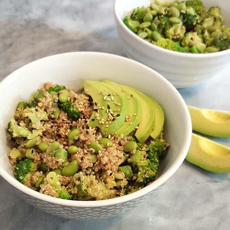 Bol vert au sésame et à l'arachide | Caroline Cloutier Nutritionniste