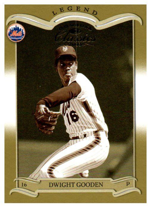 2003 Donruss Classics Dwight Gooden Legend /1500 New York Mets