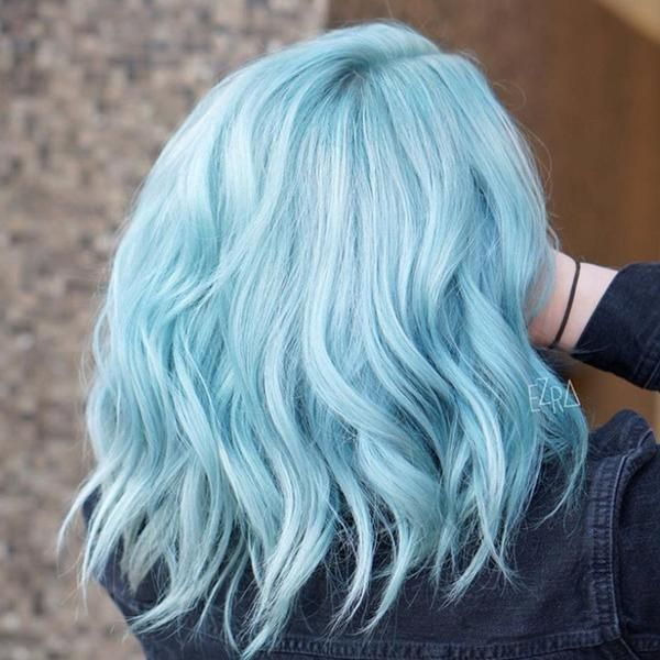 80 Pretty And Attractive Blue Hair Style Page 8 Of 21 In 2020 Stylish Hair Colors Light Blue Hair Hair Dye Colors
