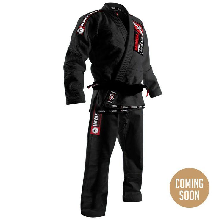 Hayabusa Goorudo Gold Weave Jiu Jitsu Gi - Black
