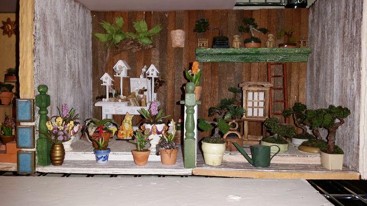 mini garden 'rooms'