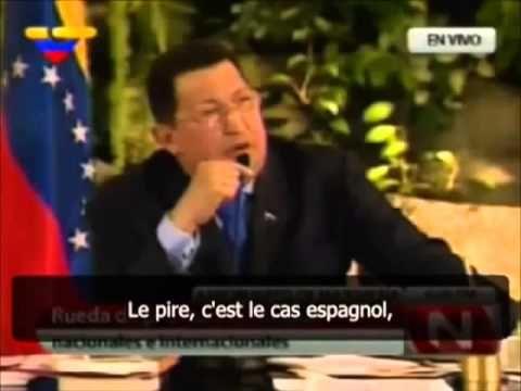 Hugo Chavez dit la vérité sur la guerre en Syrie