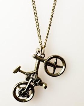 rower - naszyjnik