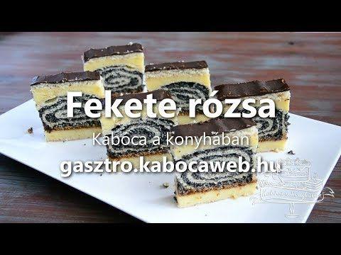 Fekete rózsa recept videó - Kabóca a konyhában - YouTube