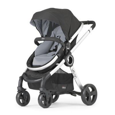Chicco® Urban® 6-in-1 Modular Stroller in Black/Grey - BedBathandBeyond.com
