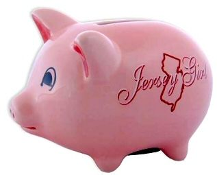 17 best images about new jersey souvenirs and gifts at for 4 compartment piggy bank