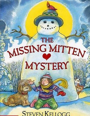 The Missing Mitten Mystery, with a Mitten Craft!