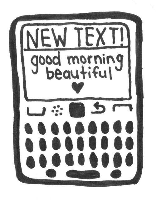 """How amazing is to start the day with that message of """"good morning"""" from that special person! Good morning touchlanders!  #goodmorning #mobile #funny #love #beautiful"""