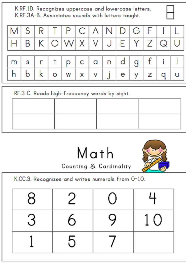 Best  Kindergarten Assessment Ideas On   Preschool