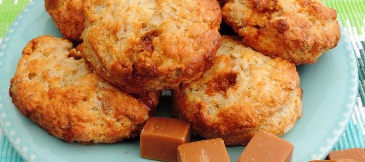 Scones met karamel (Fudge) - Lekker Tafelen