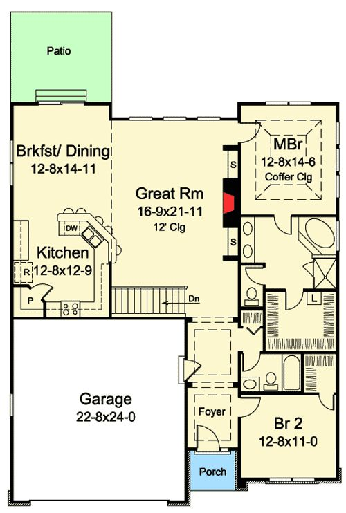 110 best 1500 sq ft plans images on pinterest for 110 sq ft bedroom design