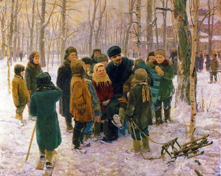 Alexey+Varlamov+-+Lenin+and+Children.JPG 1,479×1,176 pixels
