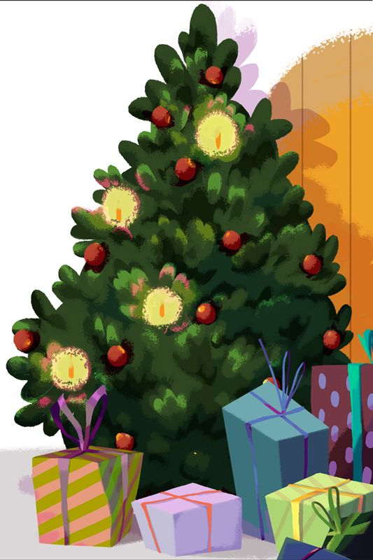 4. Tonttutieto - Joulukuusi