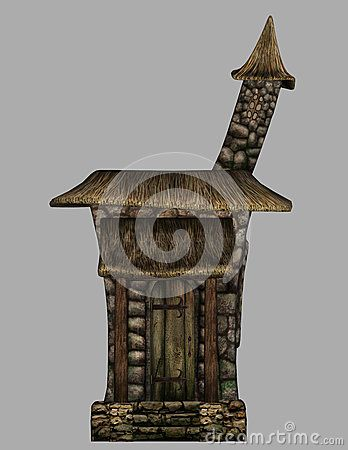 Simple Fantasy Gnome House - Download From Over 28 Million High Quality Stock Photos, Images, Vectors. Sign up for FREE today. Image: 48264381