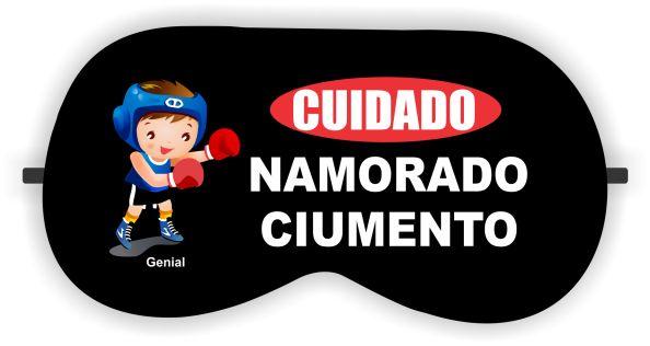 CUIDADO NAMORADO CIUMENTO - MÁSCARA DE DORMIR