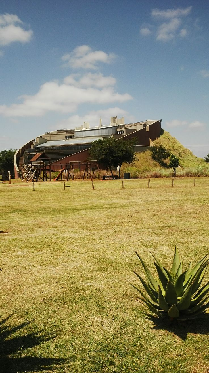 Panoramic view of #CradelOfHumankind #Maropeng #SouthAfrica from back side