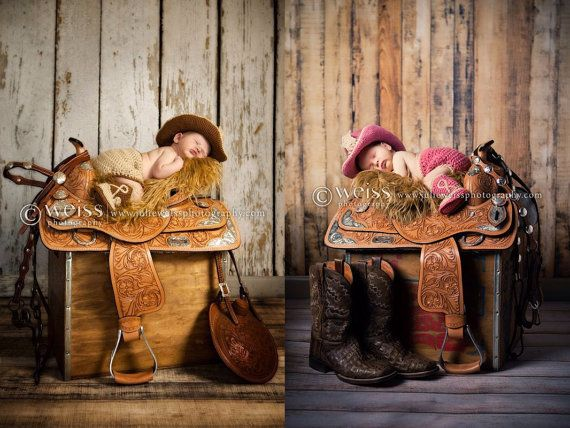 Twin baby clothes baby cowboy hat set for by conniemariepfost