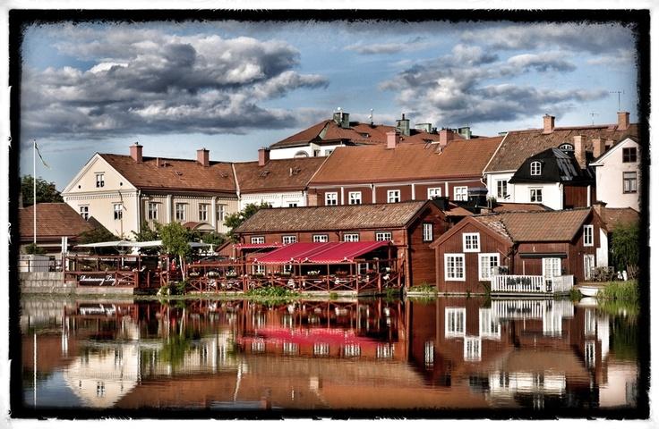 Old Town in Eskilstuna (Sweden)