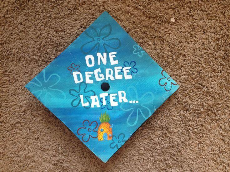 """ Top 12+ Easy Ideas "" Graduation Cap Decoration Spongebob awesome"