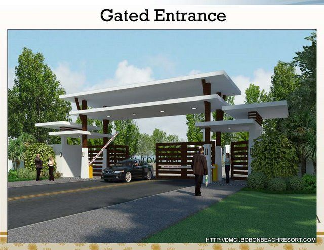 Entrance gate design for township buscar con google for Modern house entrance gate designs
