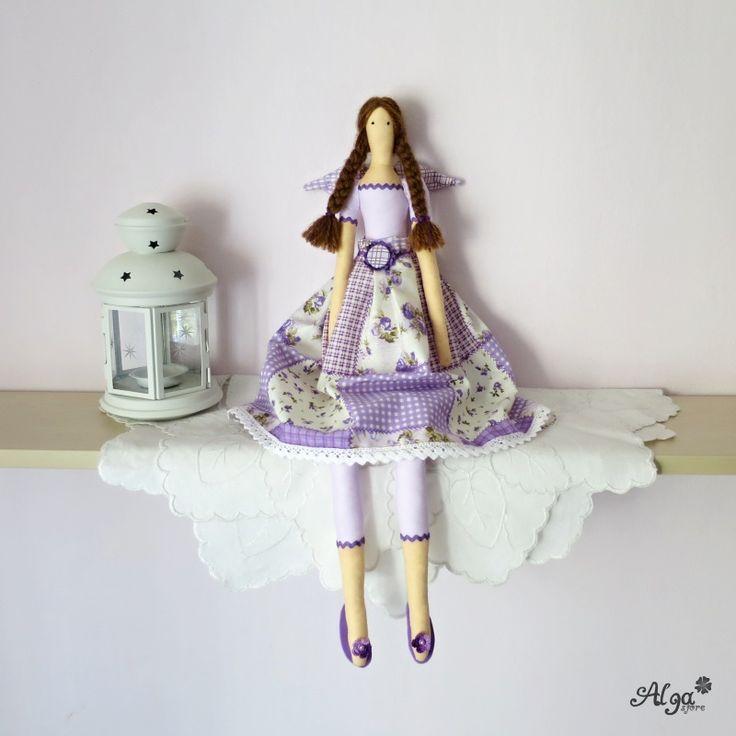Panenka Andělka Fialková