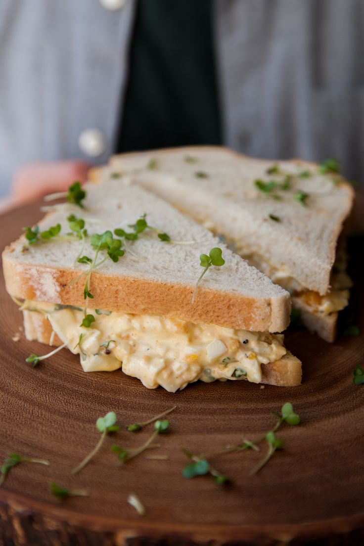 Egg Mayo Sandwich | Recipe from sortedfood.com