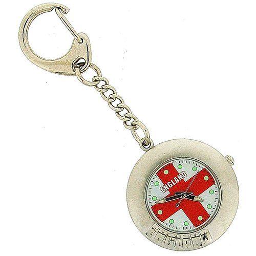 England St George Rouns Keyring Clock ENGKEY004/A