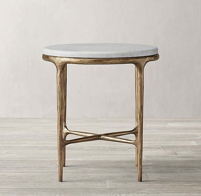Best Thaddeus Marble Round Bedside Table Bedside Table Design 400 x 300