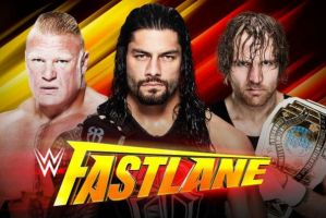 WWE Fastlane 2016 Winner Results Prediction 21 February All Matches