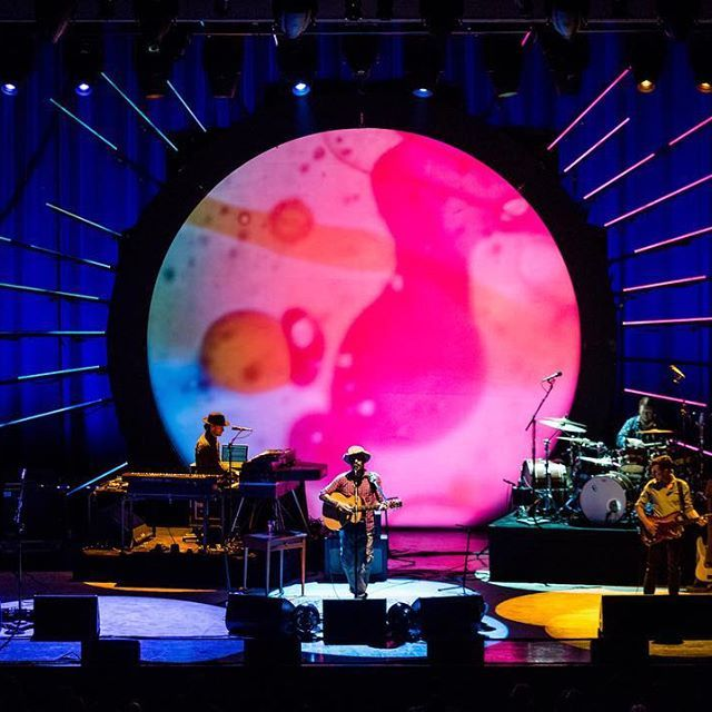 Ray LaMontagne at Meadow Brook Amphitheatre in Rochester Hills, MI on June 26, 2016.