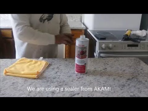 How To Install Granite Countertop Part 3 Back Splash Sink