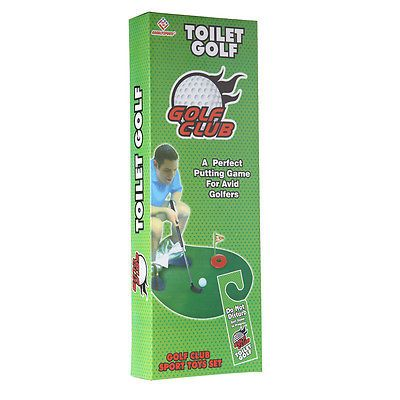 #Funny toilet bathroom mini golf mat set potty #putter #putting game novelty gift,  View more on the LINK: 	http://www.zeppy.io/product/gb/2/141777348061/
