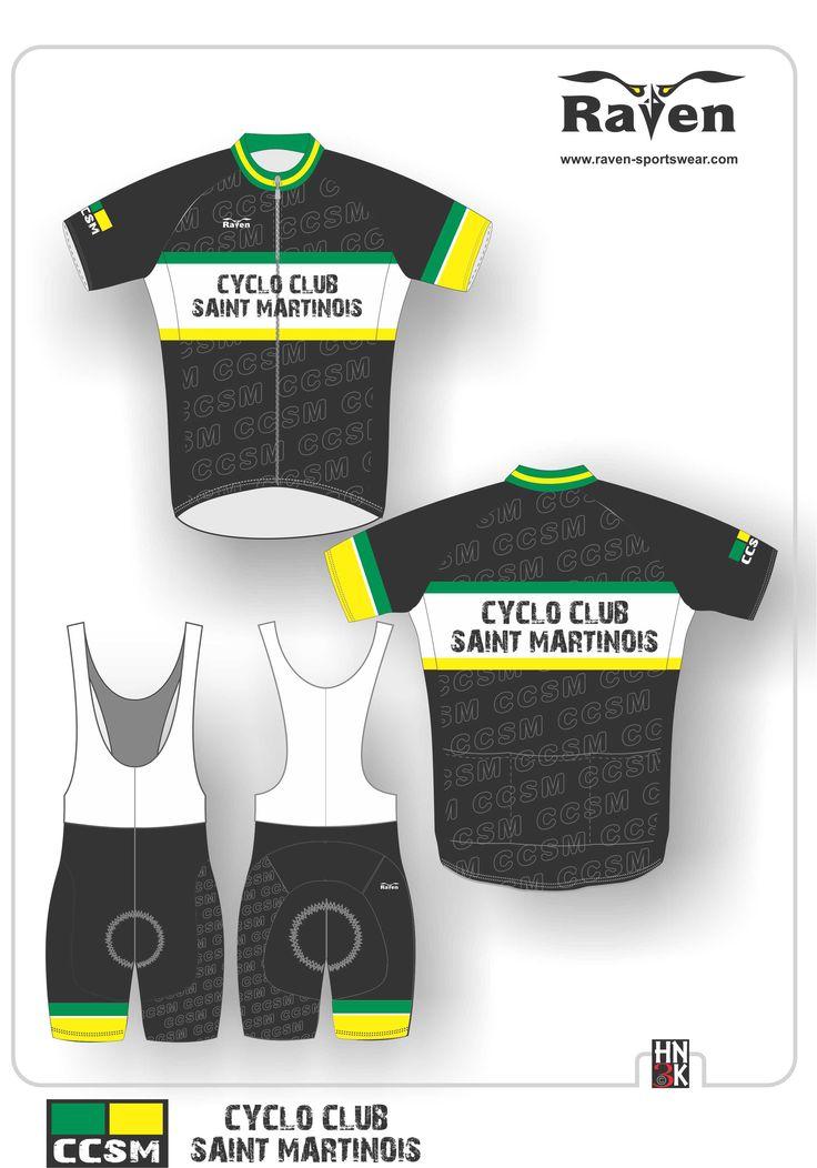 cyclo club saint martinois  cycling shirt  cycling shin  ort   bike jersey  fietstrui fietsbroek wieleruitrusting  maillot  @hn3k.be