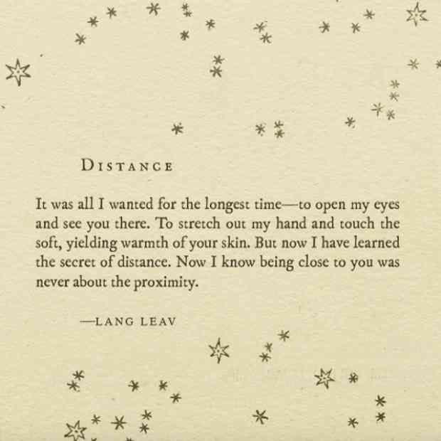 "20 Lang Leav Instagram Poems That Redefine The Word ""Love"""