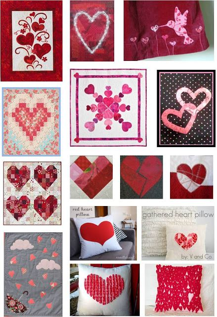 Quilt Inspiración: Día libre Patrón: Hearts and Valentines Parte 2
