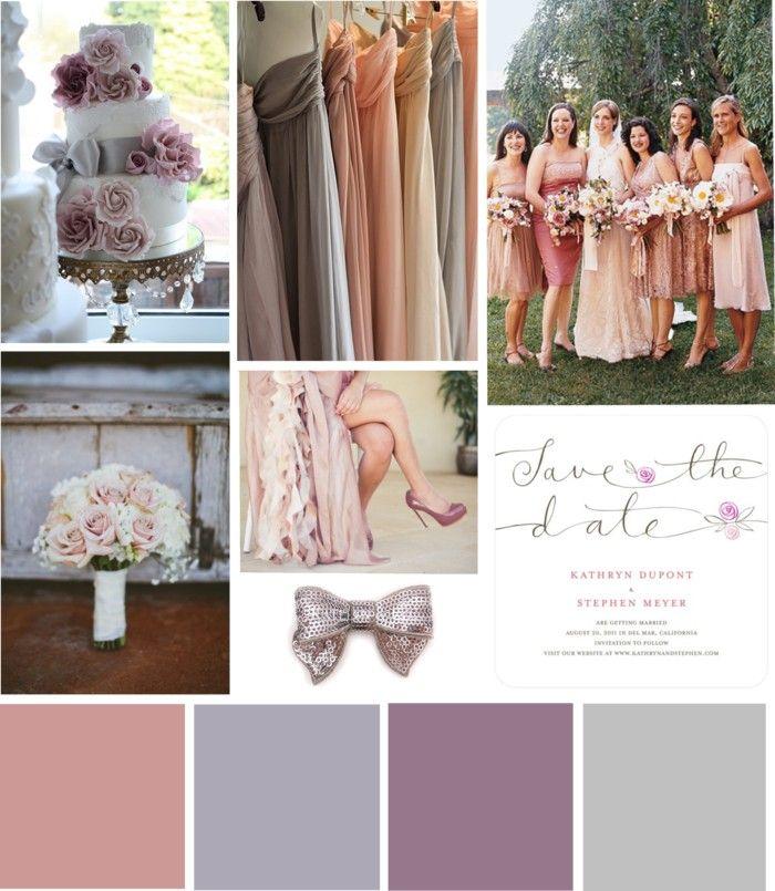 71 Best Dusty Rose Mauve Peach Cream And More Wedding