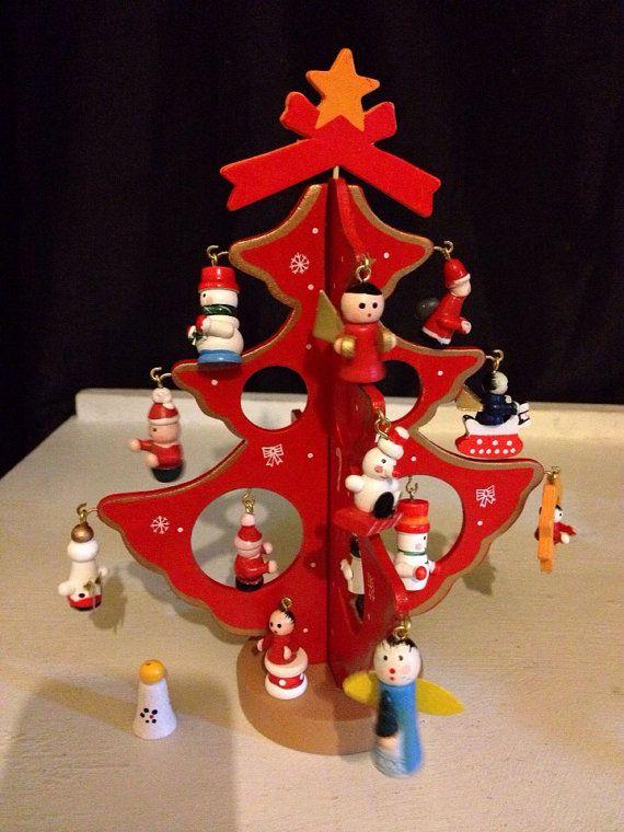 125 Best Vintage Tabletop Christmas Trees Images On Pinterest .