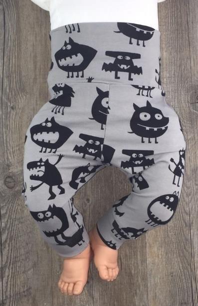 Eine süße Hose für's Baby - Nähanleitung via Makerist.de