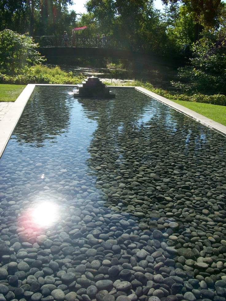 285 best gardens water features images on pinterest for Pool with koi pond