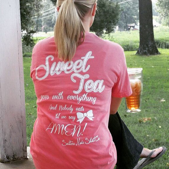 """Shop Sale On Now Southern Made """"""""Everyone Loves a Southern Girl"""" Long Sleeve Basic Tee Shirt"""